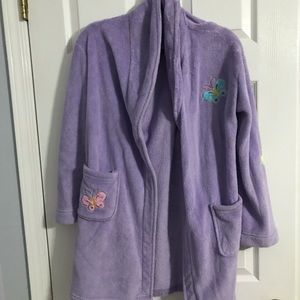 long purple robe